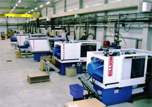 Plastilys' machines